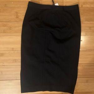 Uniqlo Ponte Pencil Skirt